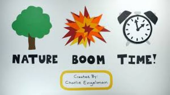 Nature Boom Time Title Card