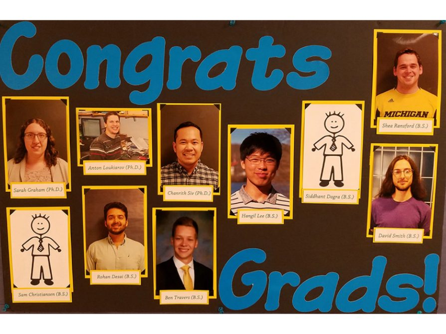 Grads Board ONE MORE