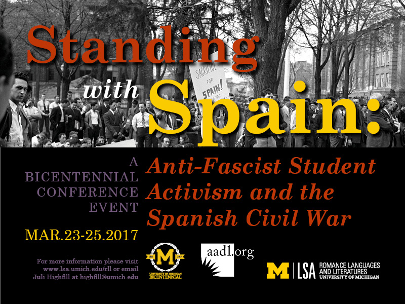 Standing with Spain: Anti-Fascist Student Activism and the Spanish Civil War