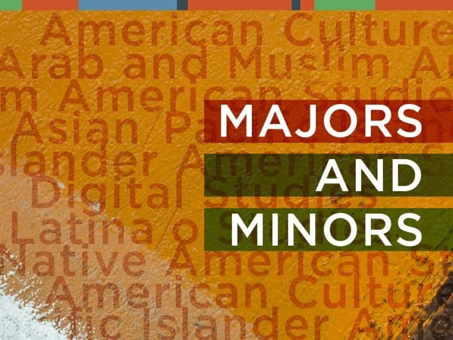 Declare a major or minor in American Culture