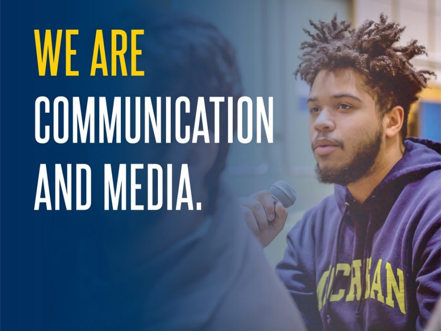 We Are Communication and Media