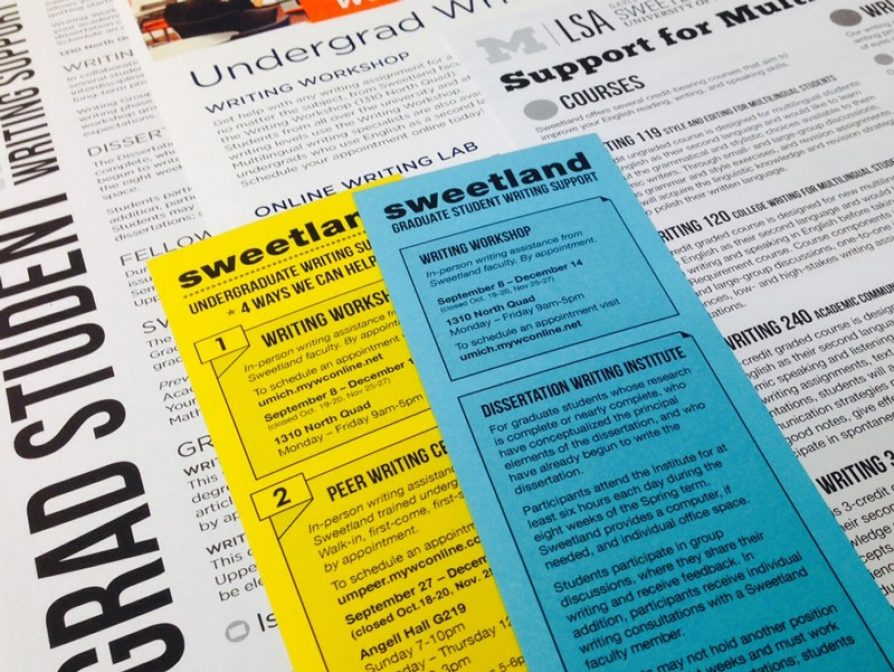 sweetland center for writing Director, sweetland center for writing the university of michigan is searching for a new faculty director of the sweetland center for writing the new director should be an outstanding scholar and teacher who qualifies for a tenured faculty appointment in a relevant department at the rank of associate or full professor.