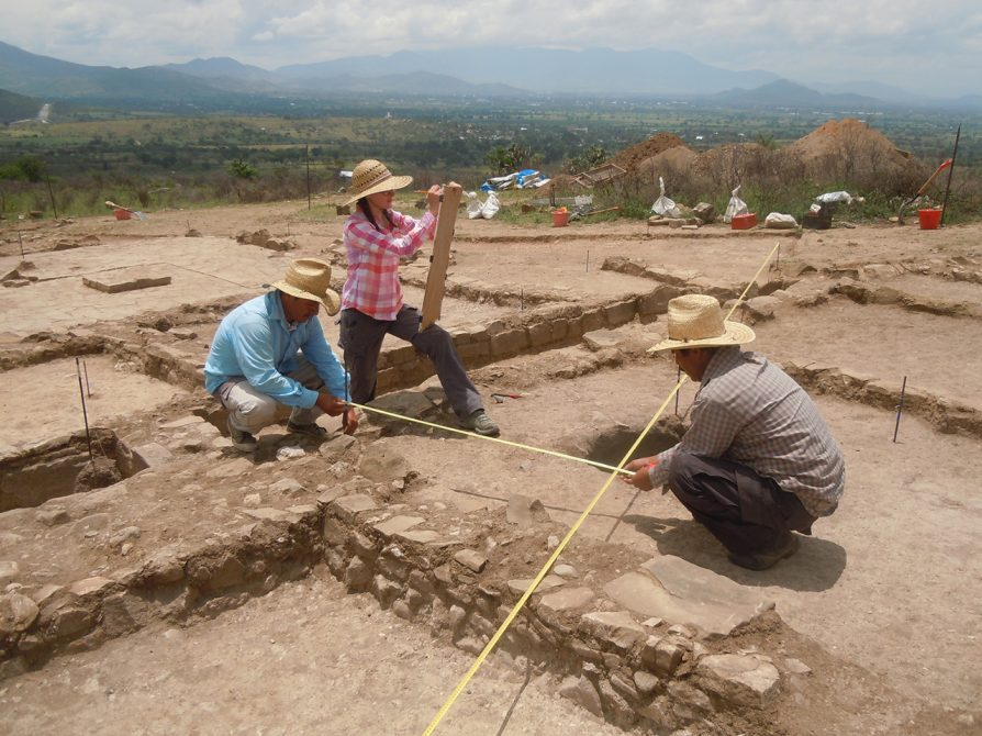Formative Period Houses in Oaxaca Valley, Mexico