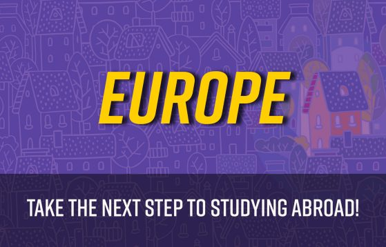 Europe: Take the next step to studying abroad!