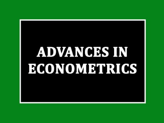 Advances in Econometrics Image