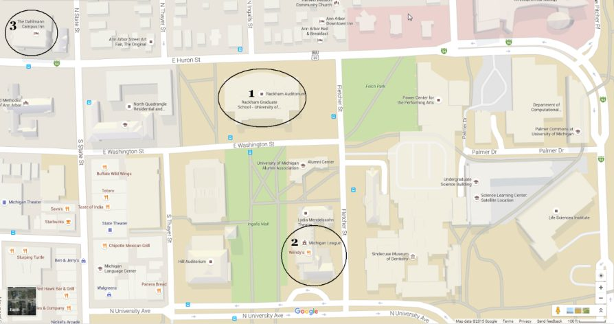 Venue and parking maps - image