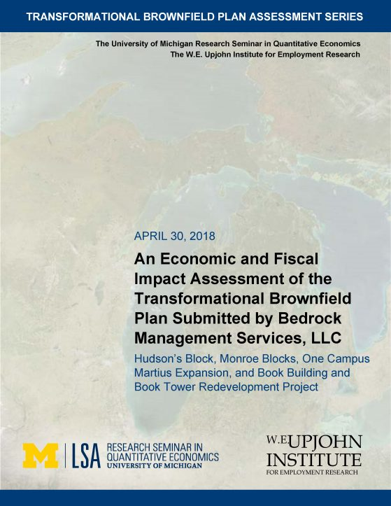 Transformational Brownfield Plan Assessment 1