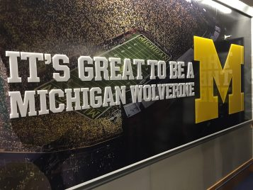 Welcome Home Wolverines!