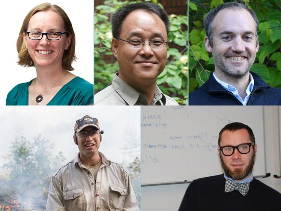 2018 promotions: Meghan Duffy, Taehwan Lee, Daniel Rabosky, Luke Nave and Stephen Smith.