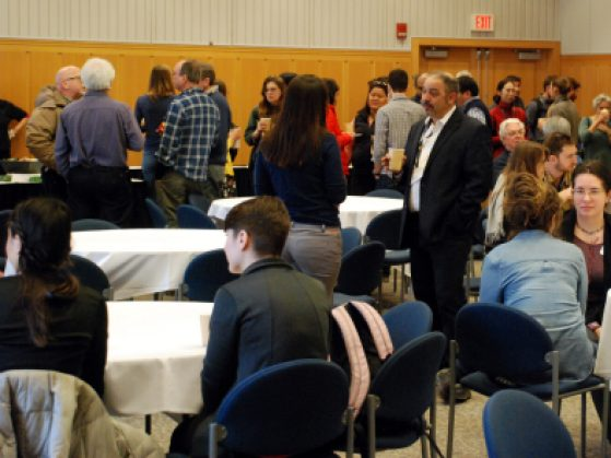 There was a great deal of collegiality and discussions across disciplines at the Early Career Scientists Symposium.