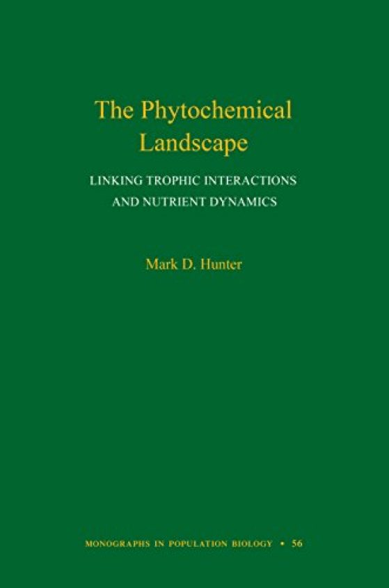 The Phytochemical Landscape cover by Mark Hunter