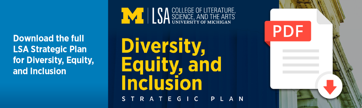Download LSA's Strategic Plan for Diversity, Equity, and Inclusion