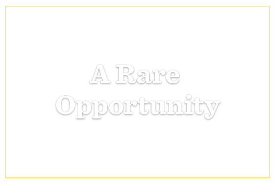 A Rare Opportunity