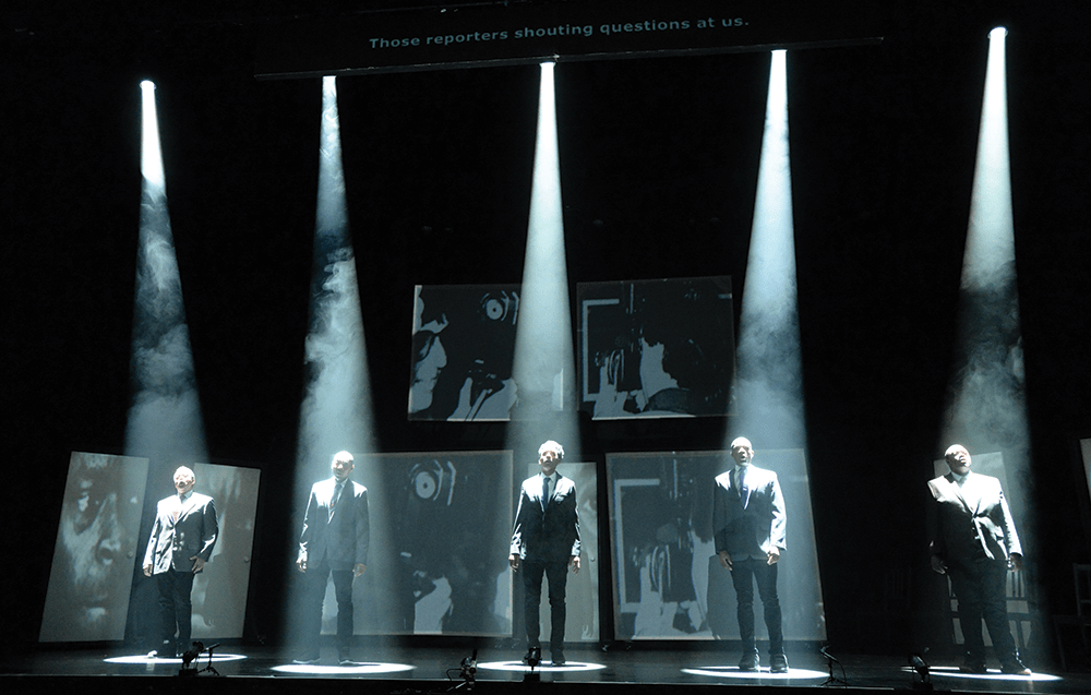The Central Park Five, an opera with music by Anthony Davis and libretto by Richard Wesley, debuted in 2019. (Keith Ian Polakoff / Long Beach Opera)