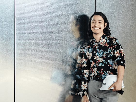 Photograph of alumnus Justin Wong