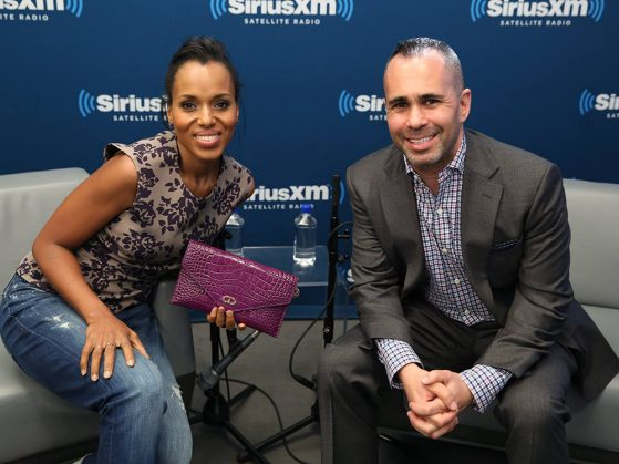 Henry Goldblatt with Kerry Washington