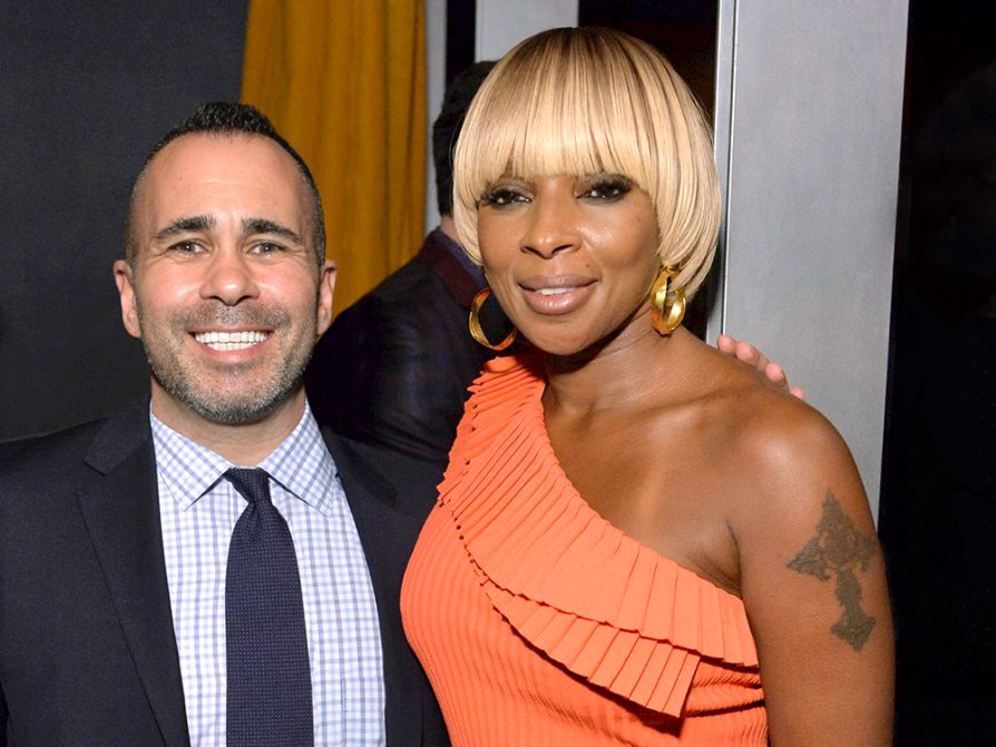 Henry Goldblatt with Mary J. Blige