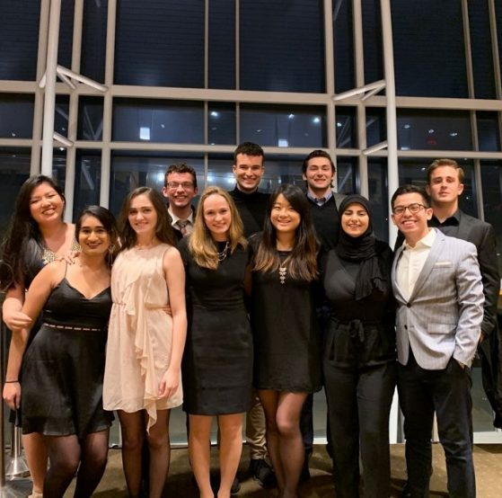 MIW students at a National Symphony Orchestra performance ofTchaikovsky, winter semester, 2019