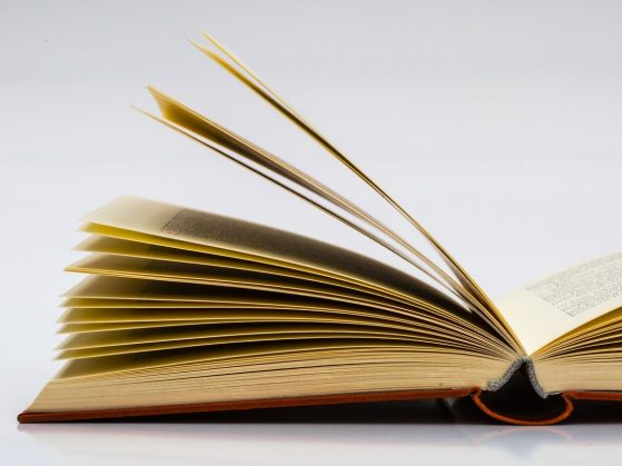 stock image of a book