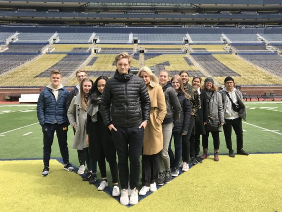 Swedish students visit U-M