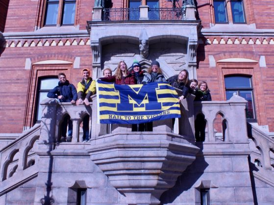 UM Swedish takes over the city hall of Helsingborg