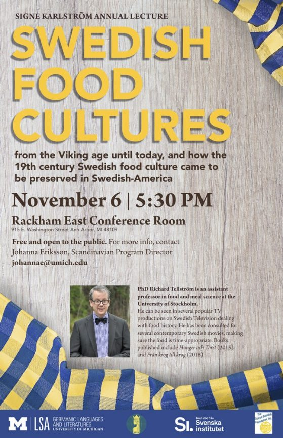 Swedish Food Cultures Poster