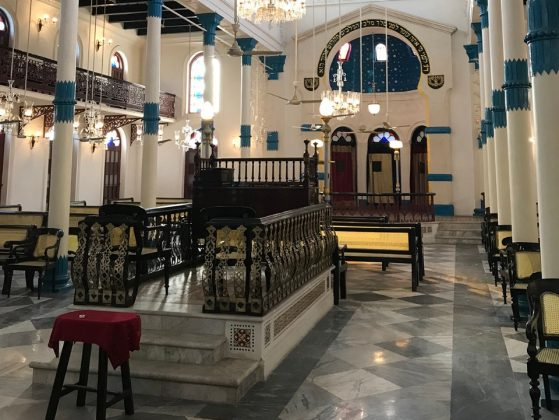 synagogue in Kolkata, India,