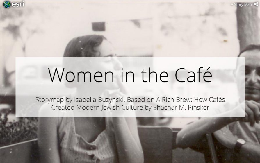 Women in the Cafe Story Map