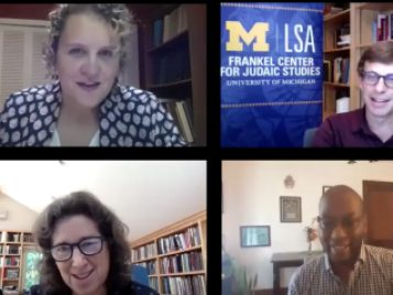 Jews, Racial Justice, and Policing webinar panel