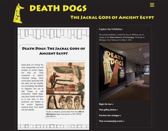 Death Dogs: The Jackal Gods of Ancient Egypt