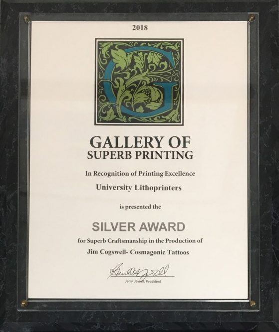 Silver Award in Superb Printing Competition