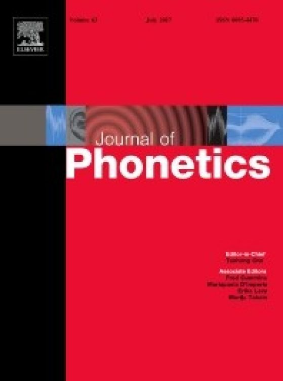 Journal of Phonology Image