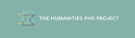 PhD Humanities Project Website header