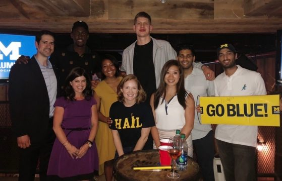 Alumni Draft Party with Mo & Caris
