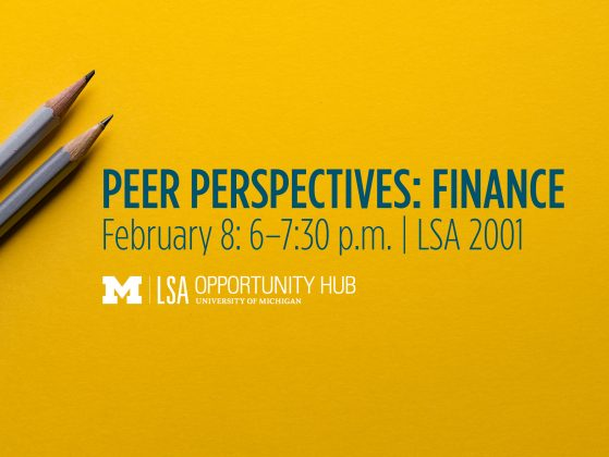 Peer Perspectives Event February 8