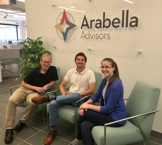 Adam at Arabella Advisors