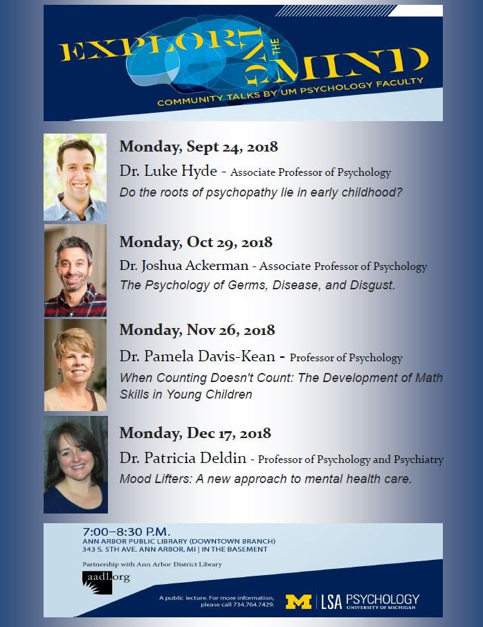 "U-M Psychology's ""Exploring the Mind"""