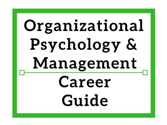 Organizational Psychology & Management Career Guide