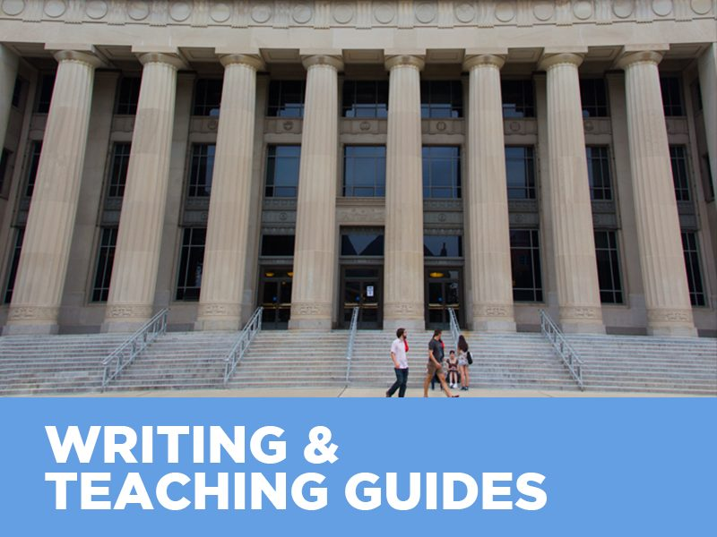 Writing & Teaching Guides