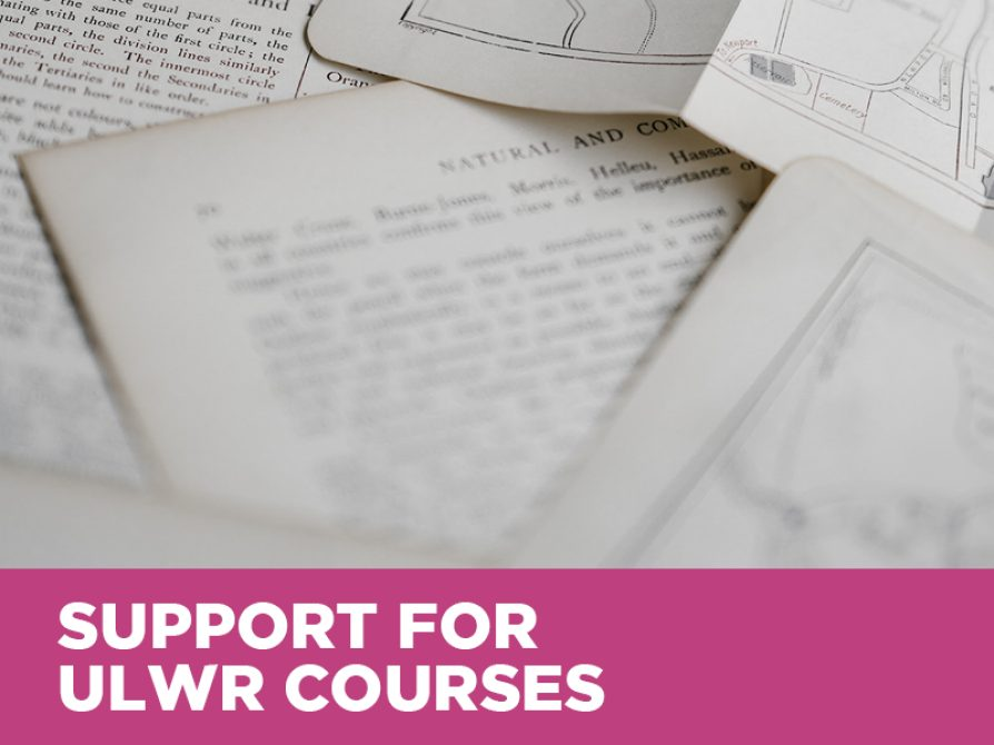 Support for FYWR/ULWR Courses