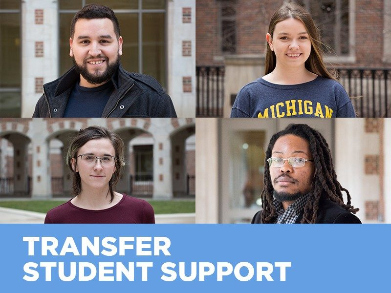Transfer Student Support