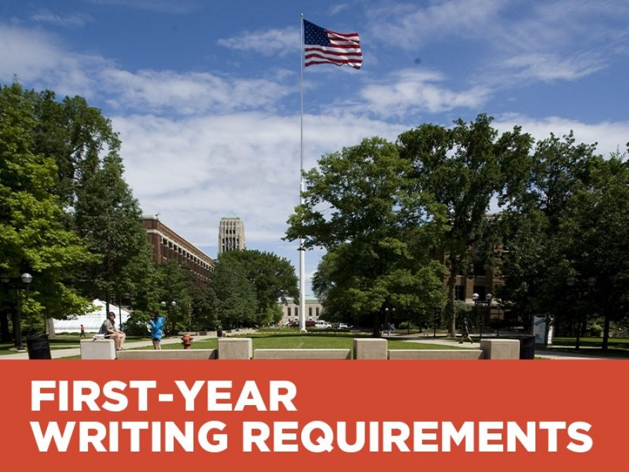 First-Year Writing Requirements