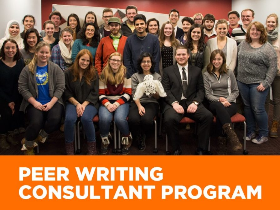 Peer Writing Consultant Program