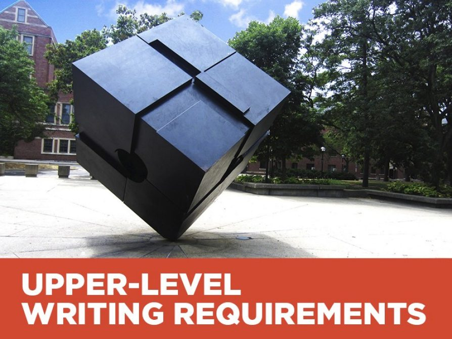 Upper-Level Writing Requirements
