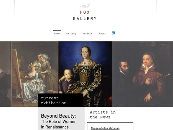 Capstone Project: Fox Gallery