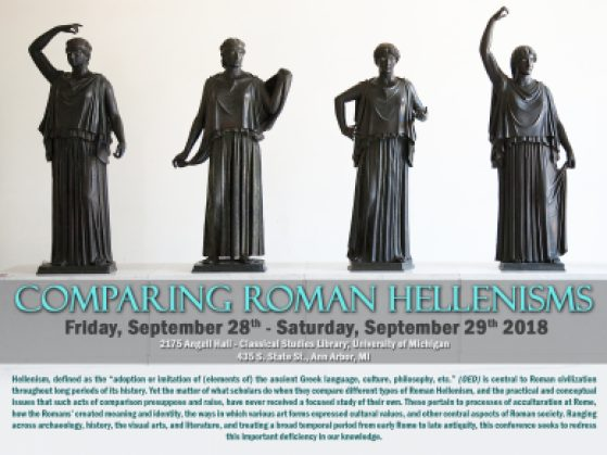 Comparing Roman Hellenisms poster