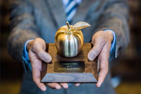 golden apple trophy