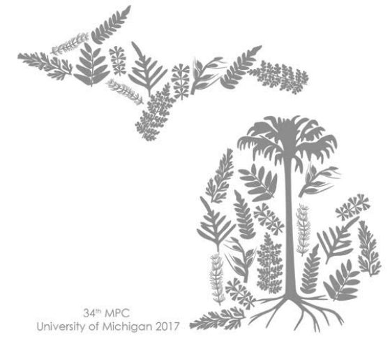 Mid-continent Paleobotanical Conference logo