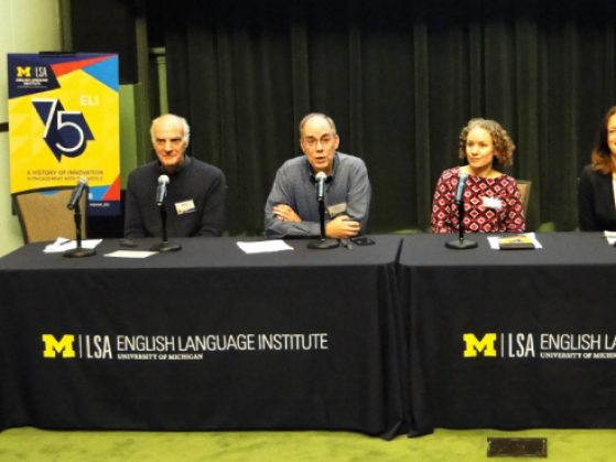 Panel presentation at the ELI 75th Anniversary Colloquium. Photo credit: Jessica O'Boyle