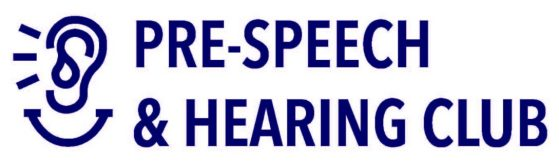 Pre-Speech & Hearing Club Logo